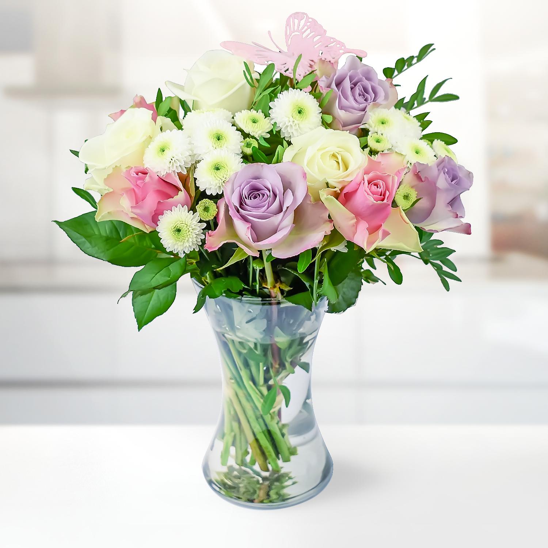 Blush Bouquet B M Flowers